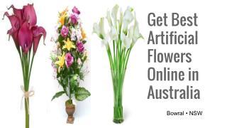 Buy Best Artificial Flowers Online in Australia