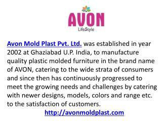 Plastic Furniture Manufacturer  Store – avonmoldplast.com