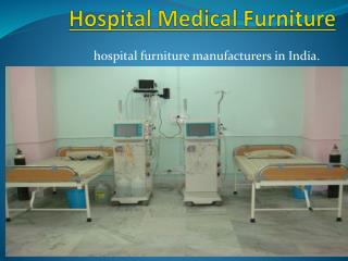 Hospital Medical Furniture Manufacturers