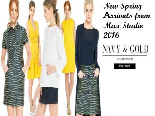 New Spring Arrivals from Max Studio 2016