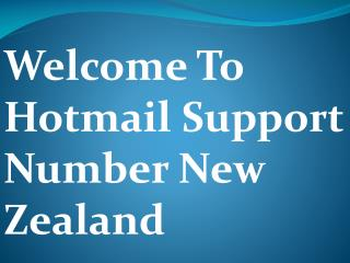 Hotmail Technical Support NZ Provide Live Technical Assistance