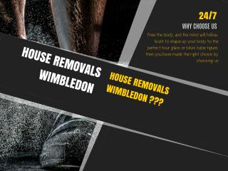 House Removals Wimbledon
