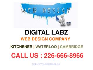 Digital Labz | Web Design Kitchener & Waterloo | E-Commerce, Responsive & Mobile Website | 226-666-8966