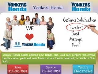 Find the Honda Dealership in ny | Yonkers Honda