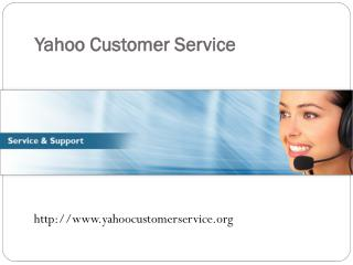 Call Yahoo Customer Service For Yahoo Mail Account Issues
