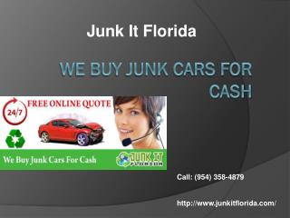 Sell Damaged Car Fort Lauderdale,
