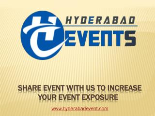 Event Organizers & Management Companies  in Hyderabad
