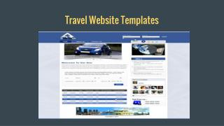 travel website templates free download