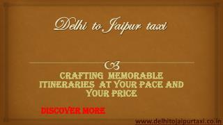 Delhi to Jaipur taxi | Delhi airport to Jaipur taxi