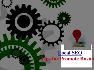 Local SEO Tips for Promote Business