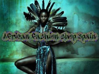 African fashion shop Spain