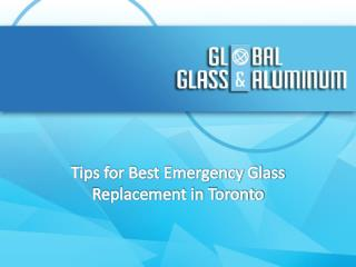 Tips for Best Emergency Glass Replacement in Toronto