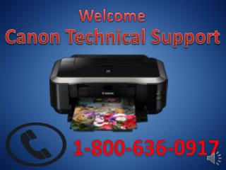 Canon printer technical support