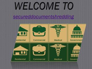 Secured Document Shredding, LLC