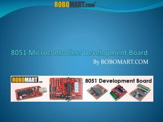 8051 Microcontroller Board - Robomart