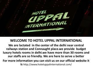 budget hotel in delhi