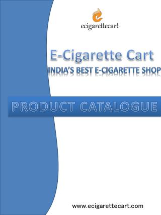 Best E cigarettes in India