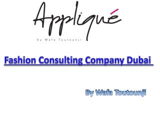 Fashion Consulting Company Dubai