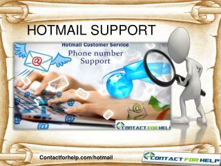 Find Instant Hotmail Support