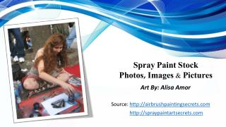 Spray Paint Stock Photos, Images & Pictures