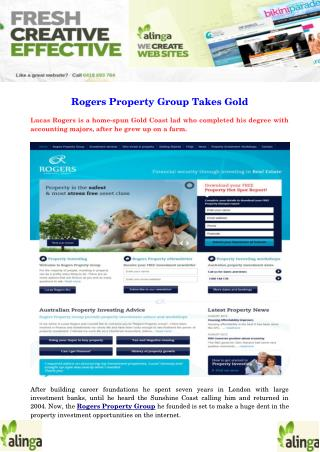 Rogers Property Group Takes Gold