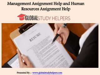 Human Resources Assignment Help in Australia and Worldwide - Global Study Helpers