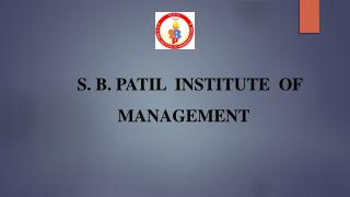 S.B.Patil MBA College