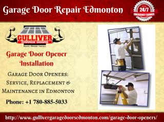 Garage Door Repair Opener Installation Tips - Gulliver Garage Doors