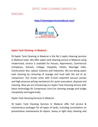 septic tank cleaning services in madurai | septic tank cleaning in madurai |  septic tank cleaning services madurai | se