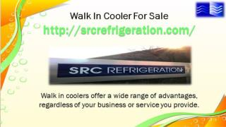 Commercial Walk In Cooler For Sale