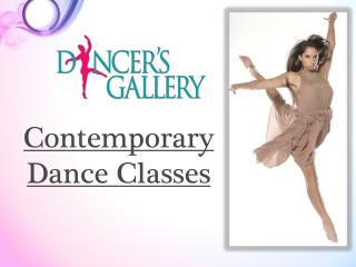 Contemporary Dance Classes | dancersgallery