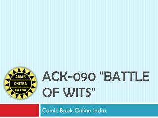 Ack 090 Battle of Wits-Buy-Comics-Online