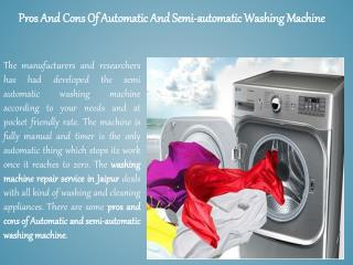 Washing machine repair in jaipur : Seva Services