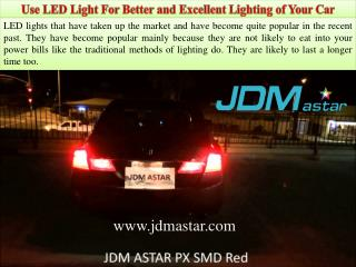 Use LED Light For Better and Excellent Lighting of Your Car