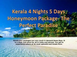 Kerala Honeymoon Package | Kerala Tour Packages
