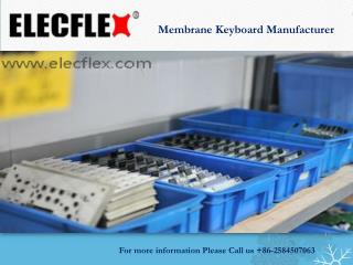 Membrane keyboard manufacturer
