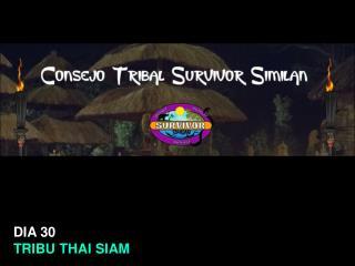Survivor Similan Consejo 12.