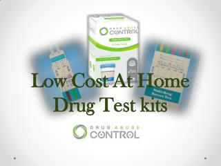 Low Cost At Home Drug Test Kits