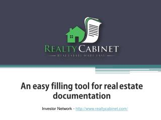 Best Investor Network - Realty Cabinet