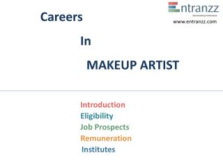 Careers In MAKEUP ARTIST