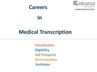 Careers In Medical Transcription