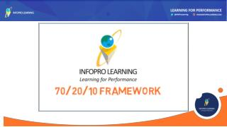70:20:10 Model for Learning - InfoPro Learning Inc