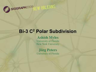 Bi-3 C2 Polar Subdivision
