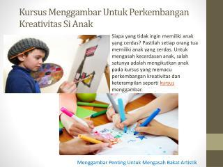 Kursus Menggambar Untuk Perkembangan Kreativitas Si Anak