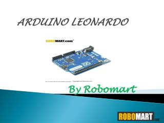 Arduino Leonardo India - Robomart