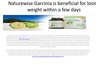 Improve Your metabolism to reduce fat with Naturewise Garcinia