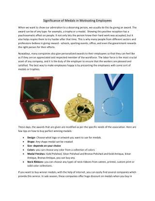 Winner medals for sale
