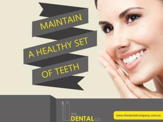 Maintain a Healthy Set of Teeth