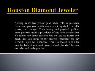 Best Jewelry Store in Houston - Jewelry Depot