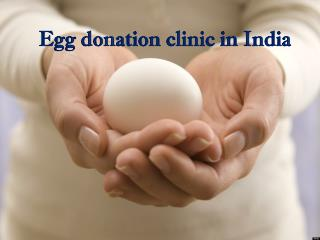 Egg donation clinic in India